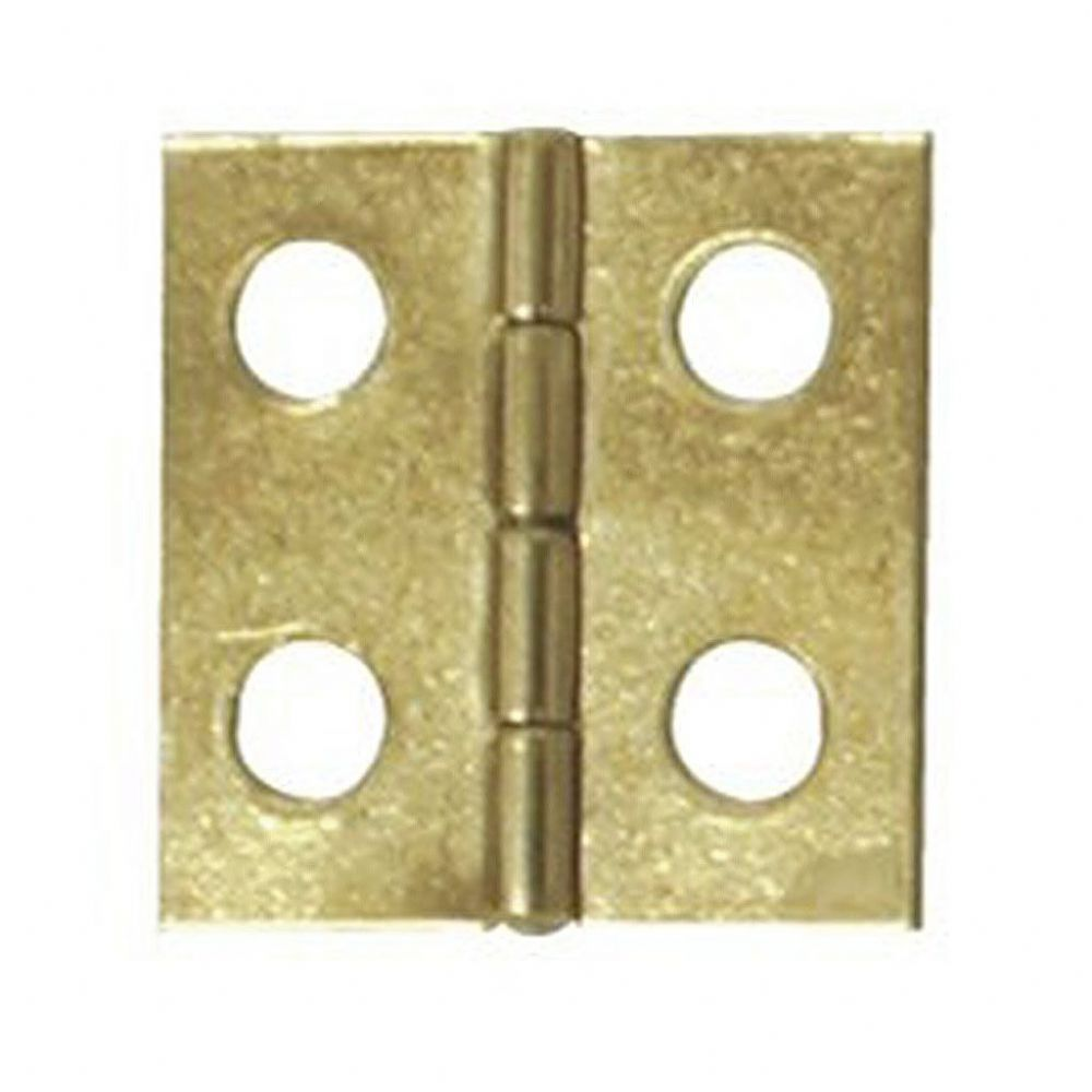 Brass Plated Flap Hinge 20x10mm